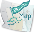 Map of Belize, showing our 4 main regions