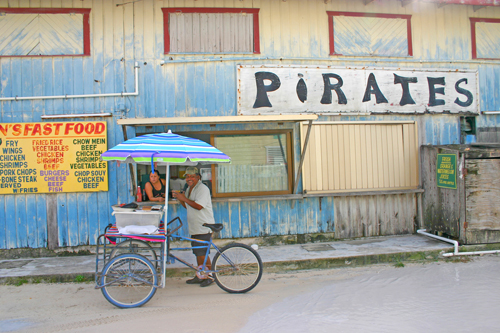 Belize-Pirates