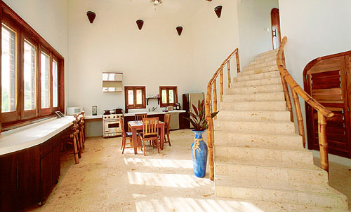 Interior of Azul Villa