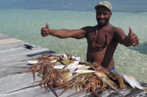 lobsters-belize
