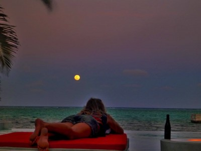 Azul Resort and Rojo lounge, Ambergris Caye, Belize
