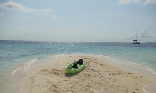 Belize-luxury-sailing-kayak