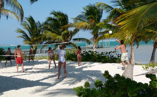 Cayes-Sundiver-Resort-Beach-Volleyball