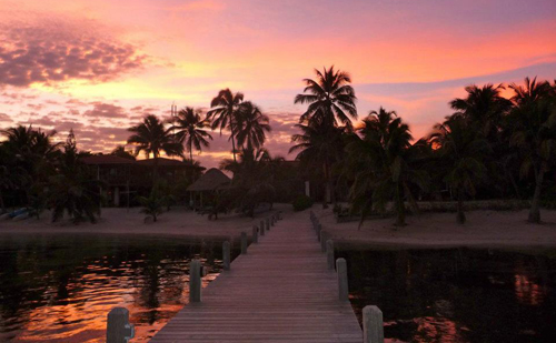 Cayes-Sundiver-Resort-Sunset