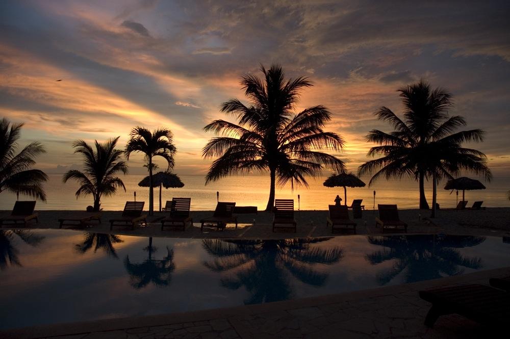 Hopkins Bay Resort Sunset