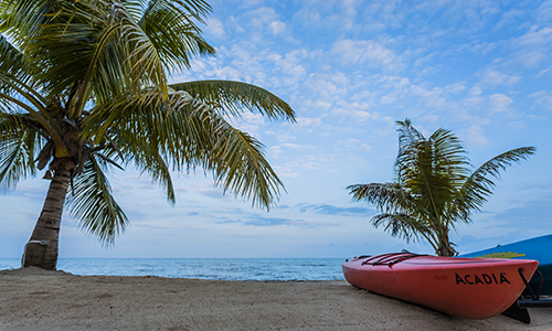 southern-belize-hopkins-bay-resort-beach