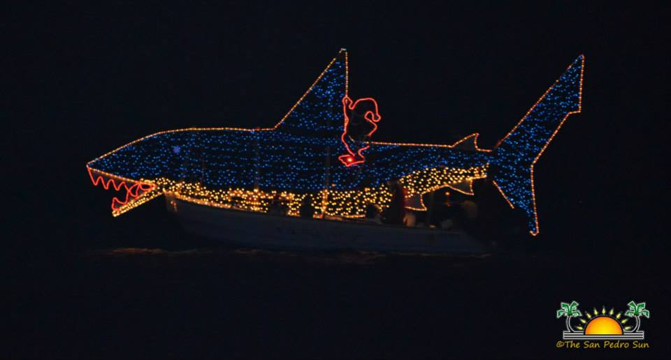 belize christmas boat parade