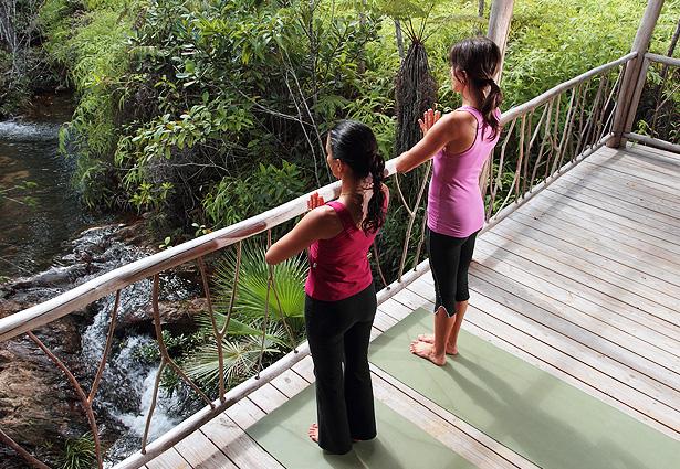 yoga hidden valley