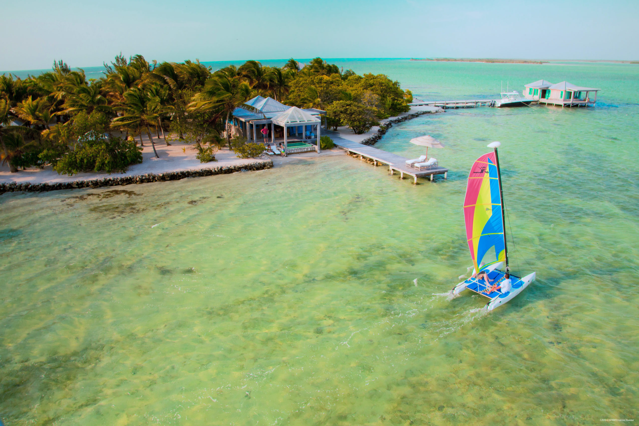 Cayo Espanto, Absolute Belize